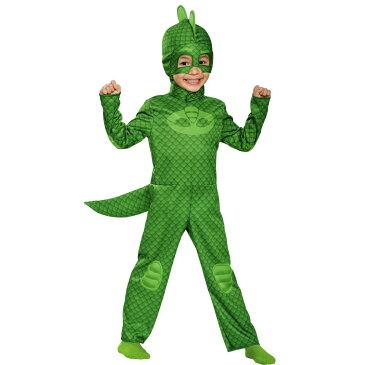 ゲッコー しゅつどう!パジャマスク 衣装、コスチューム 子供男性用 コスプレ GEKKO CLASSIC TODDLER