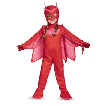 アウレット しゅつどう!パジャマスク PJマスク 衣装、コスチューム 子供女性用 Owlette Deluxe Toddler コスプレ