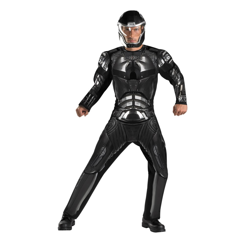 デューク G.I.ジョー 大人男性用 衣装、コスチューム コスプレ DUKE CLASSIC MUSCLE ADULT画像