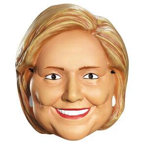 ヒラリークリントン 政治家 マスク 大人用 HILLARY CLINTON 1/2 MASK コスプレ