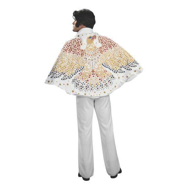 エルヴィス・プレスリー衣装コスチューム大人男性用マントコスプレ