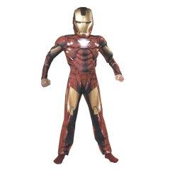アイアンマン MUSCLE MARK6 衣装、コスチューム 子供男性用