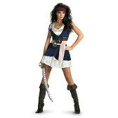 ジャック・スパロウ 衣装、コスチューム 大人女性用 パイレーツ・オブ・カリビアン 海賊 Sassy|61-3、