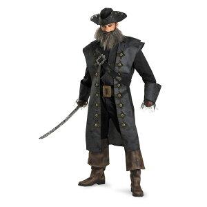 黒ひげ 衣装、コスチューム 大人男性用 DLX Blackbeard パイレーツ・オブ・カリビアン
