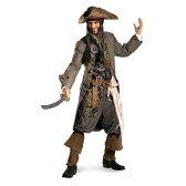海賊 ジャックスパロウ 衣装、コスチューム 大人男性用 パイレーツオブカリビアン 62-0、