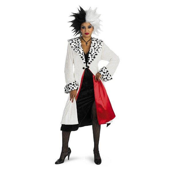 101匹わんちゃん クルエラ Prestige ディズニー 衣装、コスチューム コスプレ 大人女性用画像