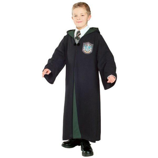 ハリーポッター ローブ  衣装、コスチューム DX スリザリン 子供男性用ハロウィン