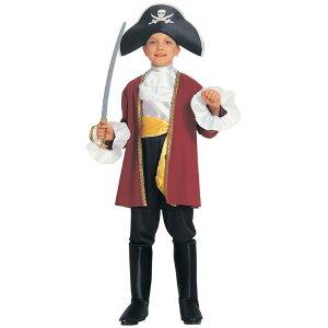 海賊キャプテン・フック衣装、コスチューム子供用