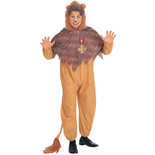 オズの魔法使い ライオン 衣装、コスチューム コスプレ 男性用ハロウィン画像