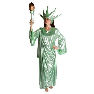 自由の女神 衣装、コスチューム 大人女性用 コスプレ Liberty Girl