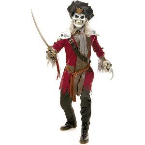 海賊 骸骨 ドクロ 衣装、コスチューム 大人男性用