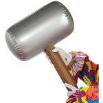 ハンマー空気で膨らむトンカチパーティーグッズ武器