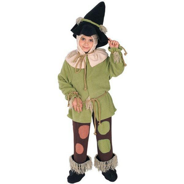 オズの魔法使い かかし 童話 衣装、コスチューム コスプレ 子供男性用画像
