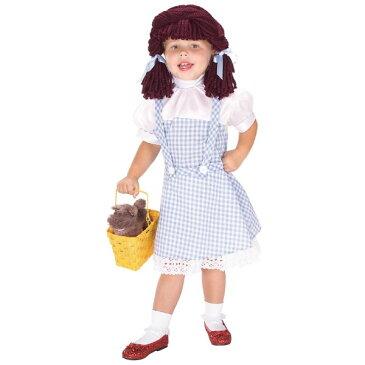 オズの魔法使い ドロシー 童話 ウィッグ、かつら付き 衣装、コスチューム コスプレ 子供用
