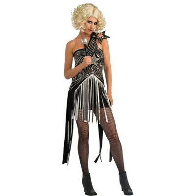 レディーガガ LADY GAGA STAR DRESS 衣装、コスチューム ドレス 大人女性用 コスプレ 歌手