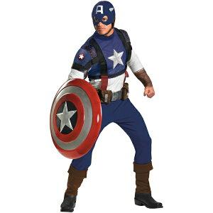 キャプテン・アメリカ 衣装、コスチューム 大人男性用 Prestige アメコミ ヒーロー