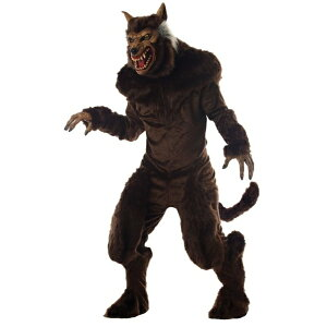 Werewolf Monster Monster Costume, Costume Deluxe Adult Male Cosplay Animal