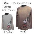 DISNEYVINTAGE(ディズニーヴィンテージ)メンズL/STシャツ