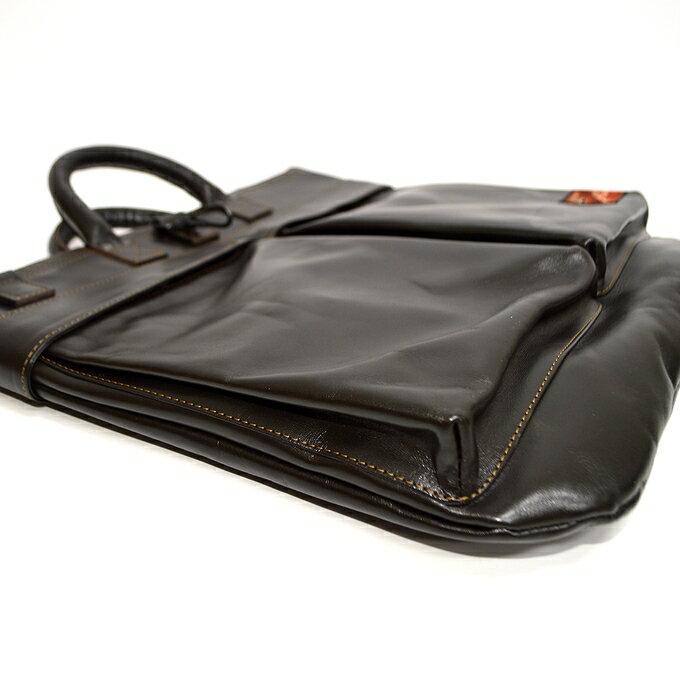 トイズマッコイ TOYS McCOY TMA1903 レザーヘルメットバッグ シールブラウン色 鞄