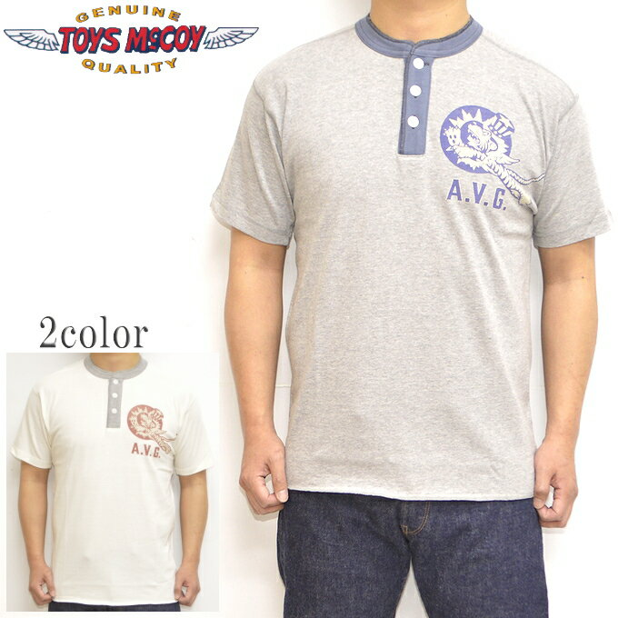 トップス, Tシャツ・カットソー  TOYS McCOY TMC2135 T MILITARY UNION SHIRT FLYING TIGERS A.V.G.