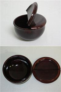 【未使用品】老松棗茶道具なつめ元箱入り老松棗溜塗り木製抹茶茶道