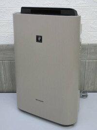 140【中古】シャープ加湿空気清浄機KC-500Y8-CベージュSHARPプラズマクラスター7000うす茶気化式加湿15畳まで空気清浄23畳まで乾燥対策感染予防