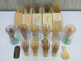 80【中古】茶筅15本セットまとめ売り天然竹茶道具抹茶薄茶濃茶点てる混ぜる