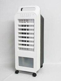 140【中古】スリーアップ冷風扇RF-D1919-WHホワイト2020年製リモコンなしエアクールファンTHREEUP扇風機空調涼風乾燥モード部屋干しスピード乾燥