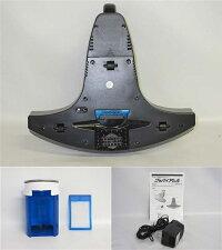 【中古】スリーアップ布団クリーナーTU-650-BK取扱説明書付Three-upグッバイアレル元箱入り充電式ブラックふとんクリーナー振動パンチ吸引UV除菌