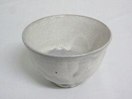 【未使用品】黄の瀬窯茶碗元箱入り茶道具茶道粉引陶器焼き物割高台