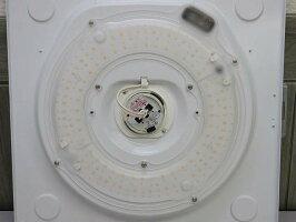 【中古】パナソニック和風LEDシーリングライトLGBZ0709〜6畳Panasonic天井照明LEDライト角型リモコン付き調光可木枠白木和紙張り50/60Hz共用シンプル艶消し乳白色