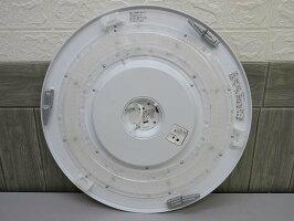 【中古】NECLEDシーリングライトHLDZD1271〜12畳丸型天井照明LEDライトリモコン付き調光可乳白色50/60Hz共用シンプル取付簡単