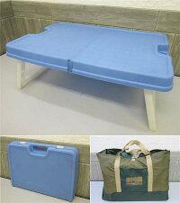 【中古】キャンプ3点セットケース付きシュラフマット寝袋銀マットシートロールマットシングルテーブル折りたたみソロキャンプ寝具机
