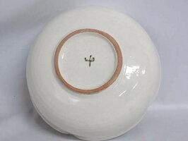 【未使用品】美濃焼き正月窯中鉢元箱付き陶器製粉引銀杏柄茶道具