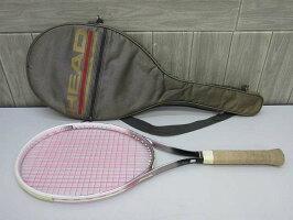 120【中古】ヘッドテニスラケットエレクトラマスター白×銀HEADELEKRTAMASTERホワイト×シルバー硬式テニス用品