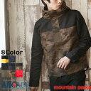 楽天マウンテンパーカー メンズ ジャケット アウター タウンユース ライトアウター マンパー アメカジ/ウィンドブレーカー メンズ ブラック 黒 迷彩 カモフラ(シェルジャケット/メンズ/アウトドア ARCADE(アーケード)
