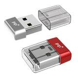 USBメモリー 32GB USB3.0 防水・防塵・耐衝撃/コンパクト PQI U603V シルバー/レッド