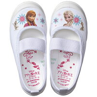 上履き上靴子供キャラクターディズニーアナと雪の女王保育園幼稚園バレエシューズ14〜19cm日本製ムーンスターアナユキバレー