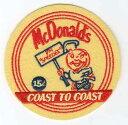 輸入ワッペン★McDonald's★Coast to Coast★マクドナルド