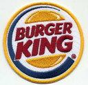 輸入ワッペン★Burger King Circle Logo★バーガーキング