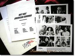 【映画パンフレット】 Wet Hot American Summer (デヴィッドハイドピアース) /アメリカ 英語版 希少 レアグッズ プレスキット 【中古】