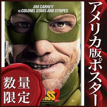 【映画ポスター】キック・アス ジャスティス・フォーエバー (ジム・キャリー) /Jim INT-ADV-DS