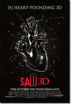 【映画ポスター】 SAW ソウ ザ・ファイナル 3D (トビン・ベル) /心臓 DS