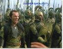 ◆エルロンド役◆[直筆サイン入写真] ヒューゴ・ウィーヴィング Hugo Weaving (映画 ロードオブ...
