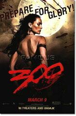 ◆美しい王女◆■ゴルゴー王女Ver■ [映画ポスター] 300 スリーハンドレッド [Queen Gorgo ADV-SS]