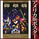 【STAR WARS ポスター】 スターウォーズ トリロジー /DVD/Video-SS