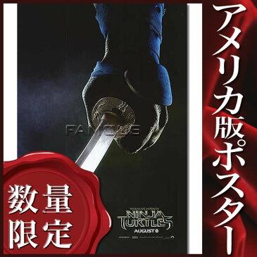 【レオナルド版ポスター】ミュータントタートルズ /ADV-DS