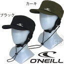 オニール 正規品 2019 O'NEILL M's SURF用 UVP WORK CAP 帽子 ブラック/カーキ #619-932