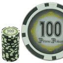 送料無料 本格カジノチップ100が20枚 プライムポーカーカジノチップ ポーカーチップ 遊べるポーカーカジノチップ 雰囲気出るポーカーチップ Ag025・・・