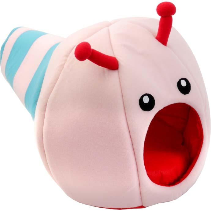 猫 小型犬用ベッド ハナコドーム トンネルおもちゃ ペット用品 お家 おもちゃ ベッド クッション になる便利なアイテム Fa5137